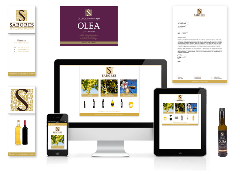logo, huisstijl ontwerp, website ontwerp, verpakkingen en etiketten