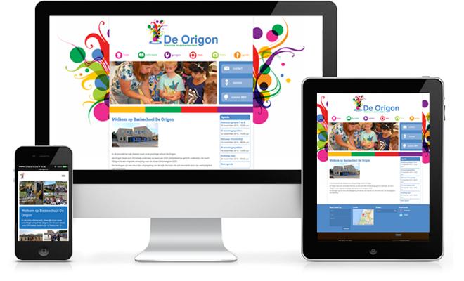 website ontwerp basisschool